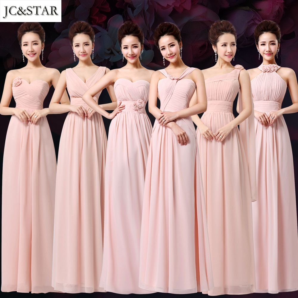 Click to buy ucuc jcustar purple mint green bridesmaid dresses to