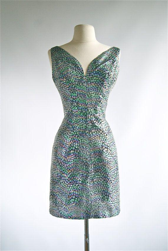 Vintage 50s Lilli Diamond Dress 1950s Lilli by xtabayvintage
