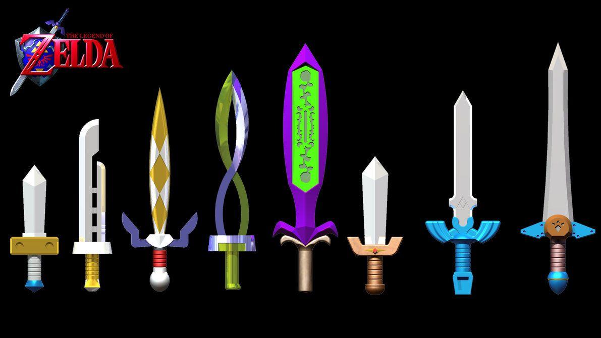 Swords Legend Of Zelda Lego Zelda Zelda