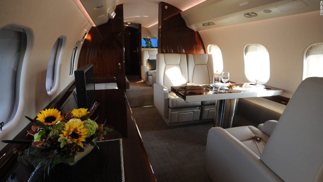 private jets - NetJets Global interior