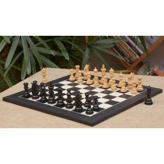 chess set – Meghdoot Staunton Schachfiguren aus Ebenholz und Buchsbaumholz(König 82mm) mit furniertem Schachbrett aus Anigre schwarz und Ahornholz aus Indien >> http://www.chessbazaar.de/schachspiel/kostengunstige-schachspiele/chess-set-meghdoot-staunton-schachfiguren-aus-ebenholz-und-buchsbaumholz-konig-82mm-mit-furniertem-schachbrett-aus-anigre-schwarz-und-ahornholz-aus-indien.html