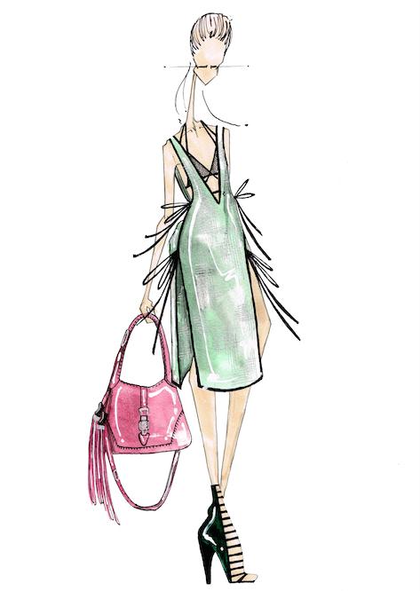 J, Larkowsky: Gucci Spring 2014