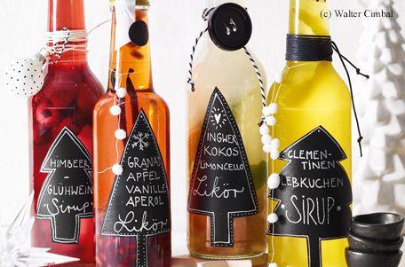 Frisch Gekocht Recipe Detail Geschenke Aus Der Kuche Weihnachtsgetranke Sirup