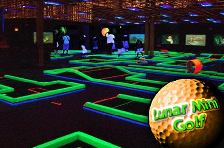 Lunar Mini Golf In Sugarloaf Mills In Lawrenceville Ga Kids