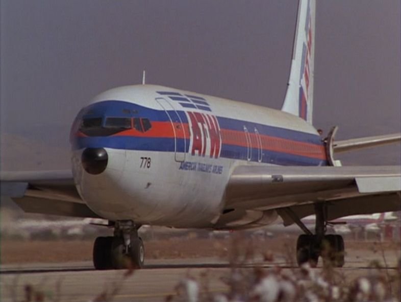 """Fictional Airline"" American Travelways Boeing 707 as"