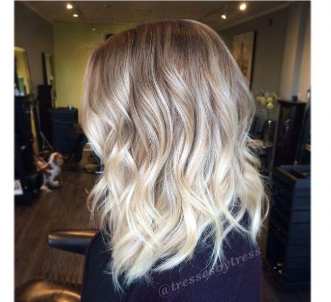Blond Ombre Czyli Jak Modnie Urozmaici Jasny Kolor