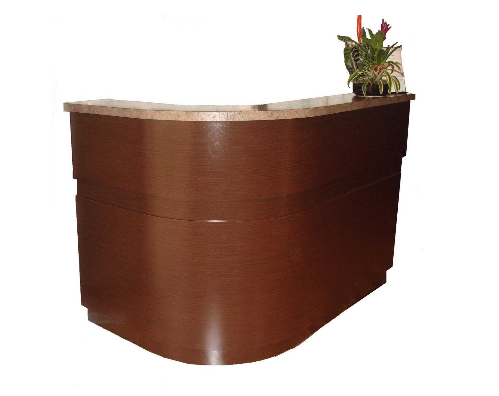 used L-Shaped reception desk  Furniture, Office desk, Reception