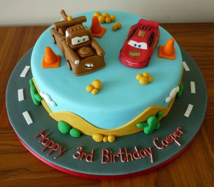 36 Photo Of 54 For Pixar Cars Birthday Cakes