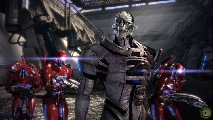 Saren and The Geth from Mass Effect