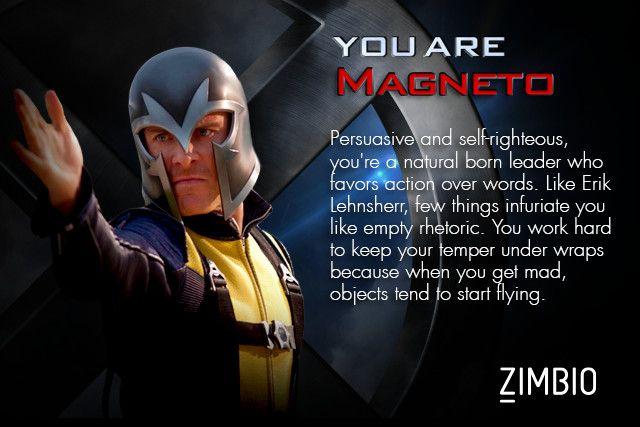 Which X Men Character Are You Which Character Are You X Men Just For Laughs