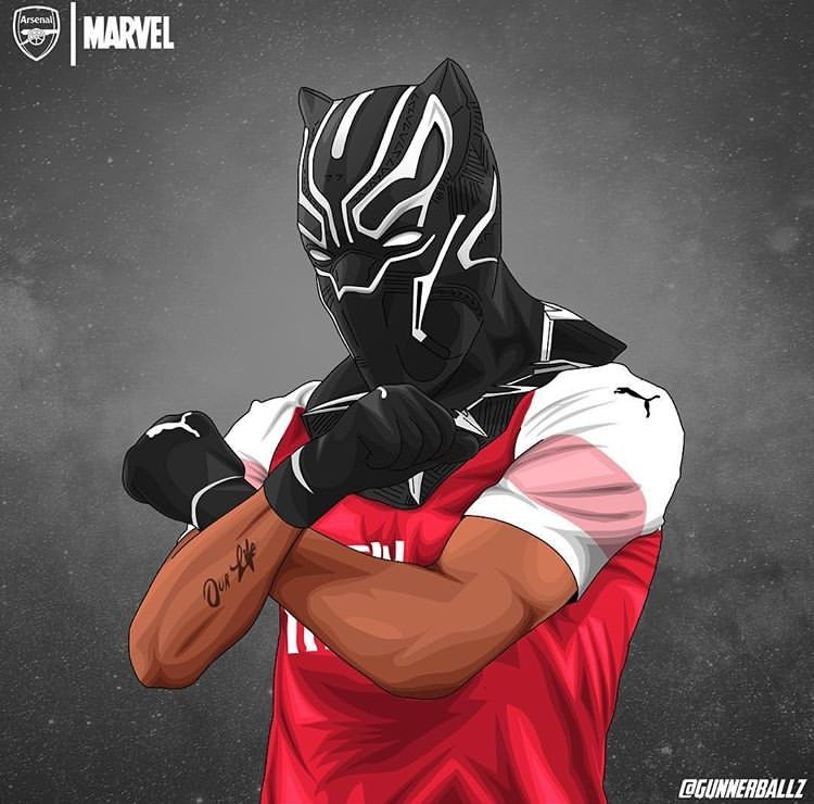 Arsenal Black Panther Wallpaper - Wallpaper HD New