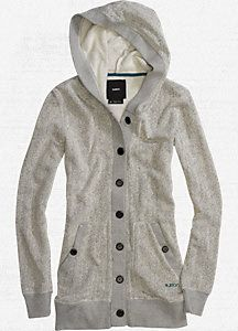 Women s Dogwood Hooded Cardigan - Burton Snowboards 22d5b675d