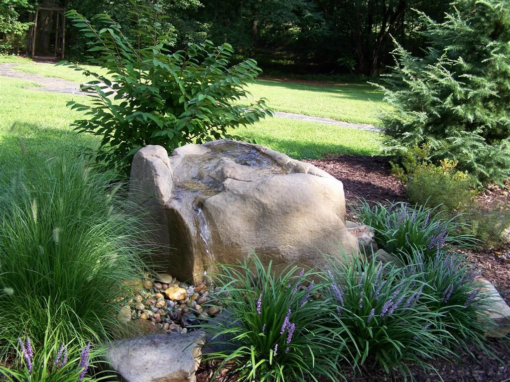 Michigan Sliding Rock Falls This is a wonderful rock fountain. It ...