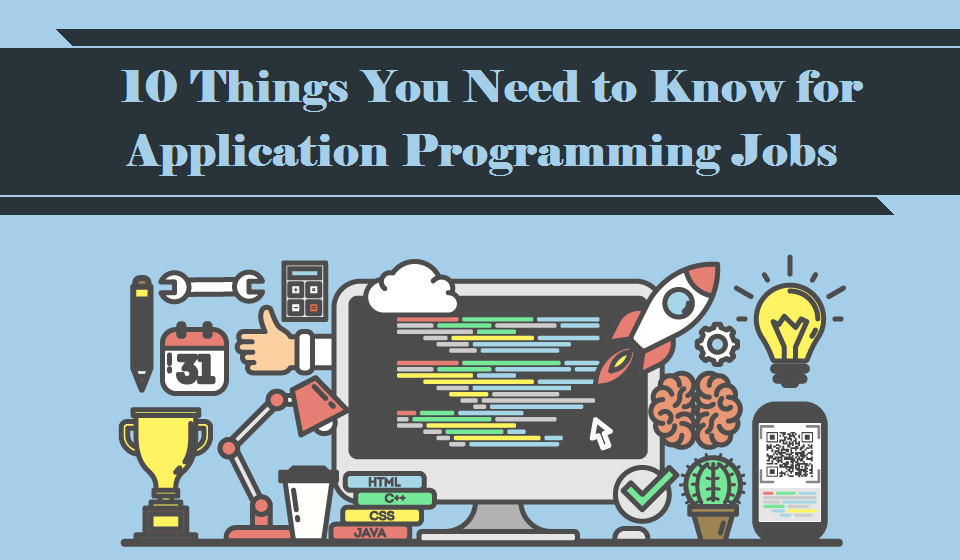 10 Things You Need to Know for #Application #Programming