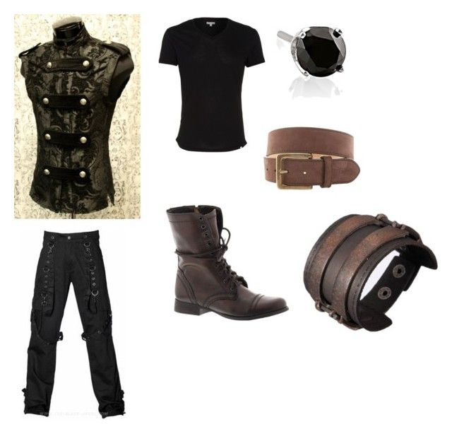 """""""Steampunk mix up"""" by saberblade572 on Polyvore featuring Orlebar Brown, Steve Madden, Miadora and Vineyard Vines"""