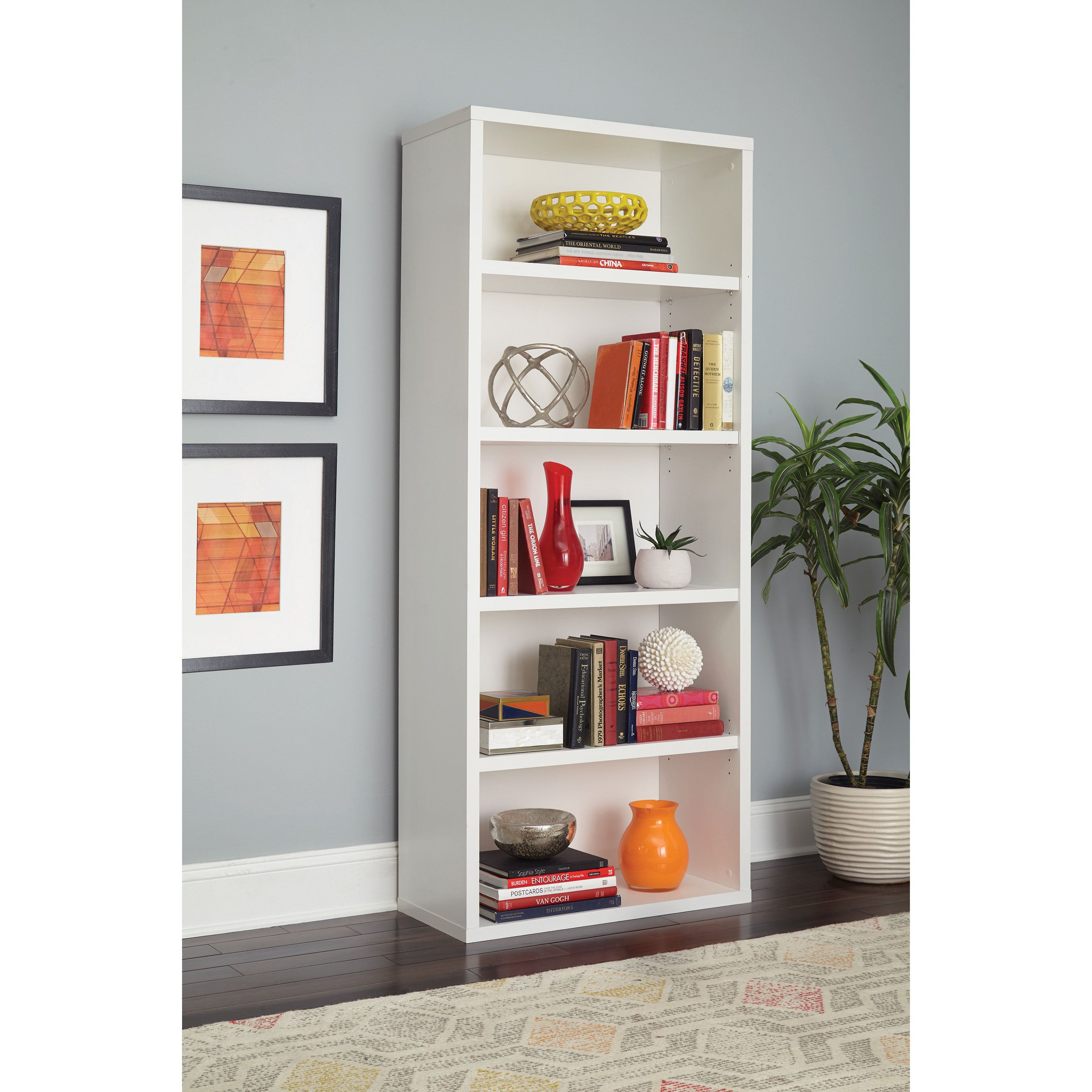 bookcases decorative furniture e q pcok bookcase home shelving shelves corner co unit