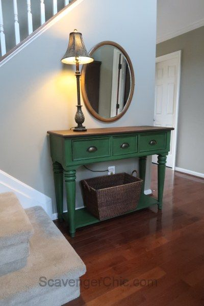 Entry Table Bench