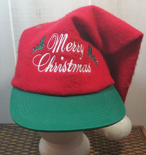 Santa Hat Merry Christmas Snapback Baseball Trucker Hat Cap Red Green  Holiday  SantaCap  BaseballCap f51147e9f8a