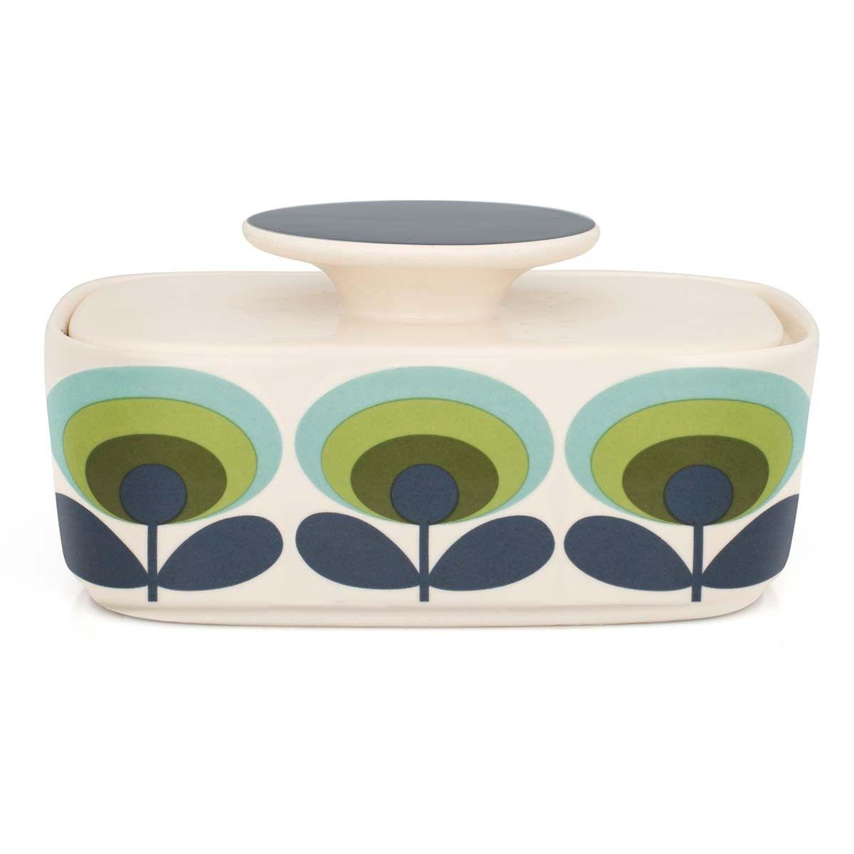 70\'s Flower Butter Dish by Orla Kiely at Dotmaison | Orla Kiely ...