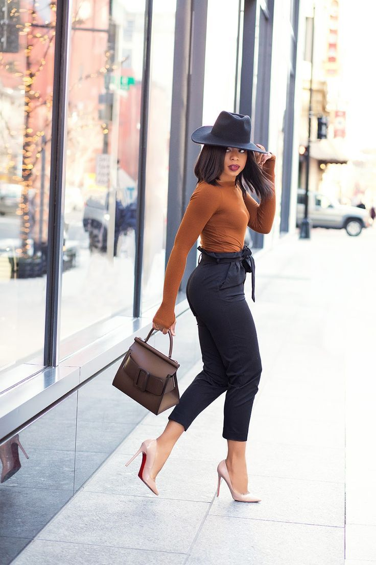 Work Style: Black And Brown (J'ADORE-FASHION)