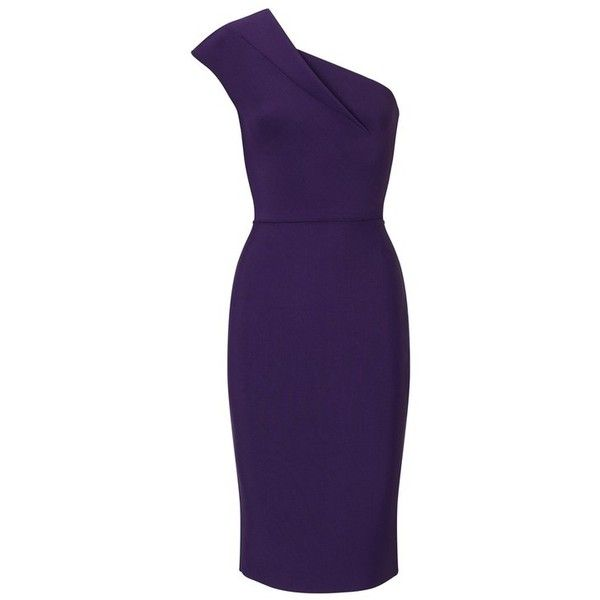 24819f117413 Roland Mouret Brattle Dress (€1.210) ❤ liked on Polyvore featuring dresses