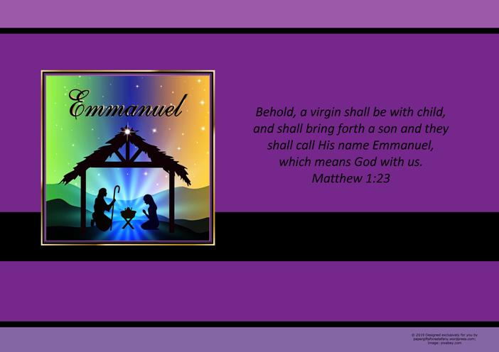The Genealogy of Jesus Christ Christmas Nativity