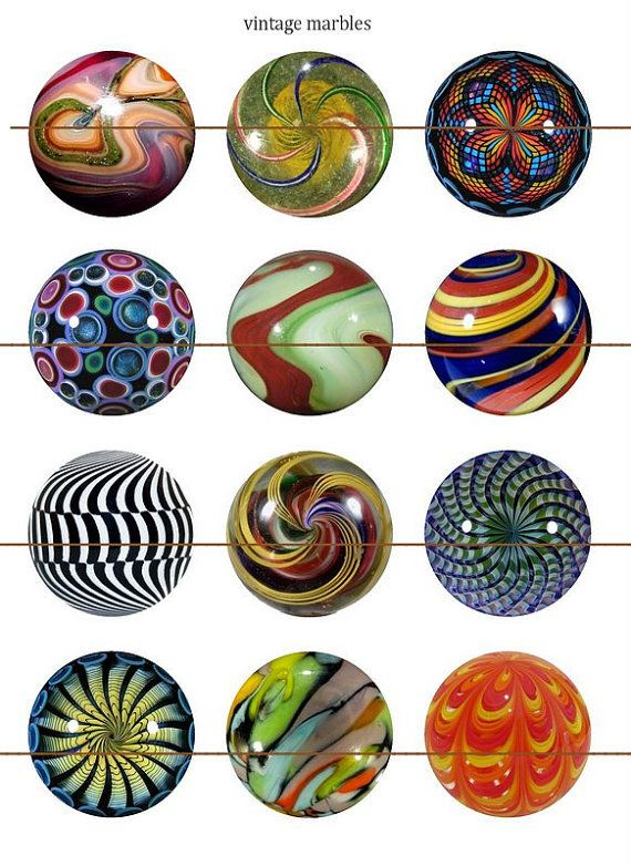 Marble Magnets Pins Party Favors Gift Sets Fridge Magnets