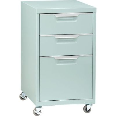 TPS Mint File Cabinet Contemporary Filing Cabinets And Carts   Store Seen  On Houzz.