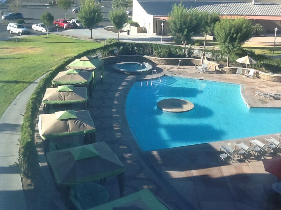 The Cabana Area Of Pool At Tachi Palace Lemoore California