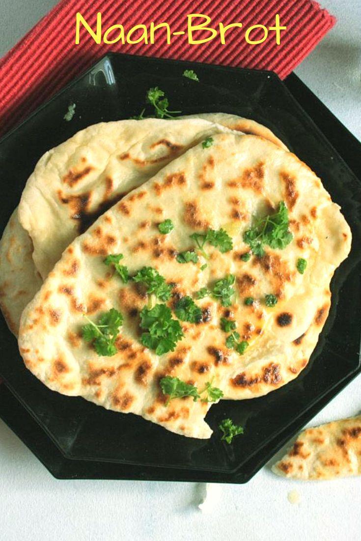 Photo of Naan-Brot selbst machen | mit Knoblauch, Hefe und Joghurt