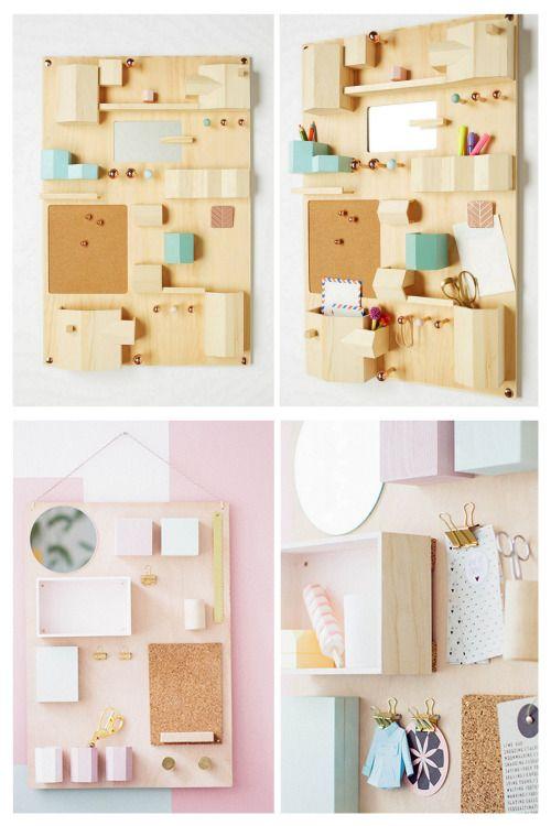 DIY Anthropologie Inspired Hanging Desk Organizer Tutorial From.