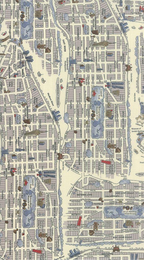 Custom order for latoyastockdale map fabric and fabrics custom order for latoyastockdale new passportnew york mapsmap fabricworld gumiabroncs Image collections
