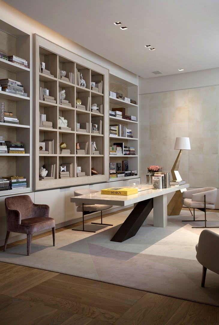 Study Room Interior Design: Interiores De Casas, Projeto De Home