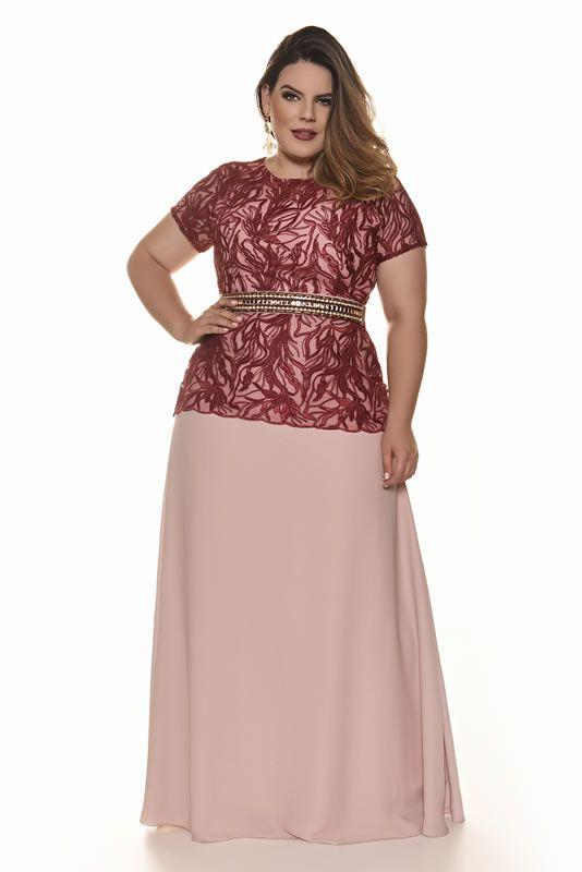 14696b14ad Vestido Plus Size Evangelico (2)
