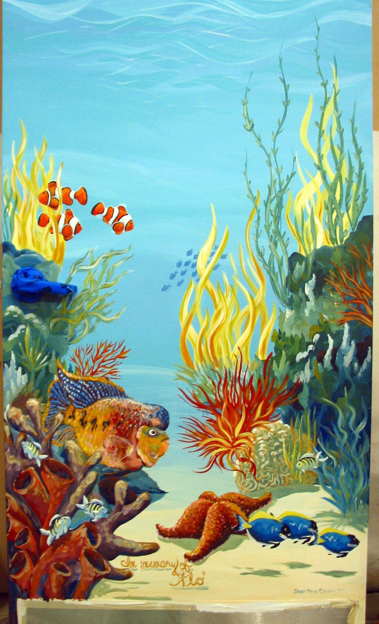 Details about Tropical fish clown underwater Sea Ocean big ...