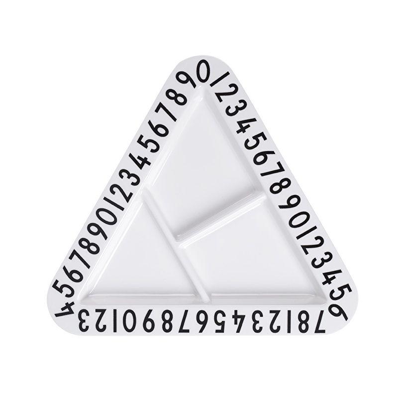 Design Letters | Menüteller Dreieck Melamin