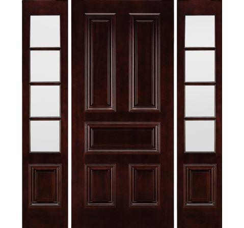 Aurora Custom Fiberglass Jeld Wen Doors Windows Wood Exterior Door Mahogany Front Door Fiberglass Front Entry Doors