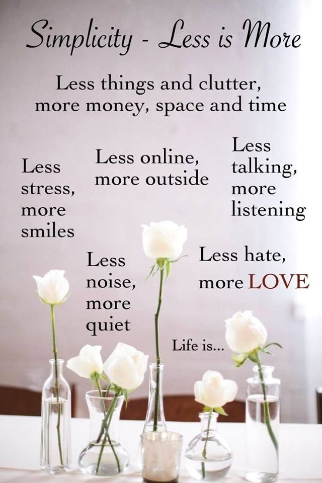 Life Is Simple True Words Life Quotes Simple Life