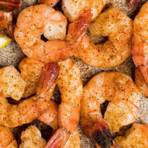 OLD BAY® Steamed Shrimp with Cocktail Sauce #boiledshrimp