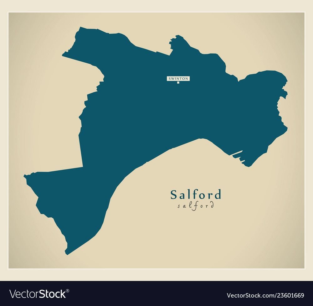 Salford borough Greater Manchester UK England...