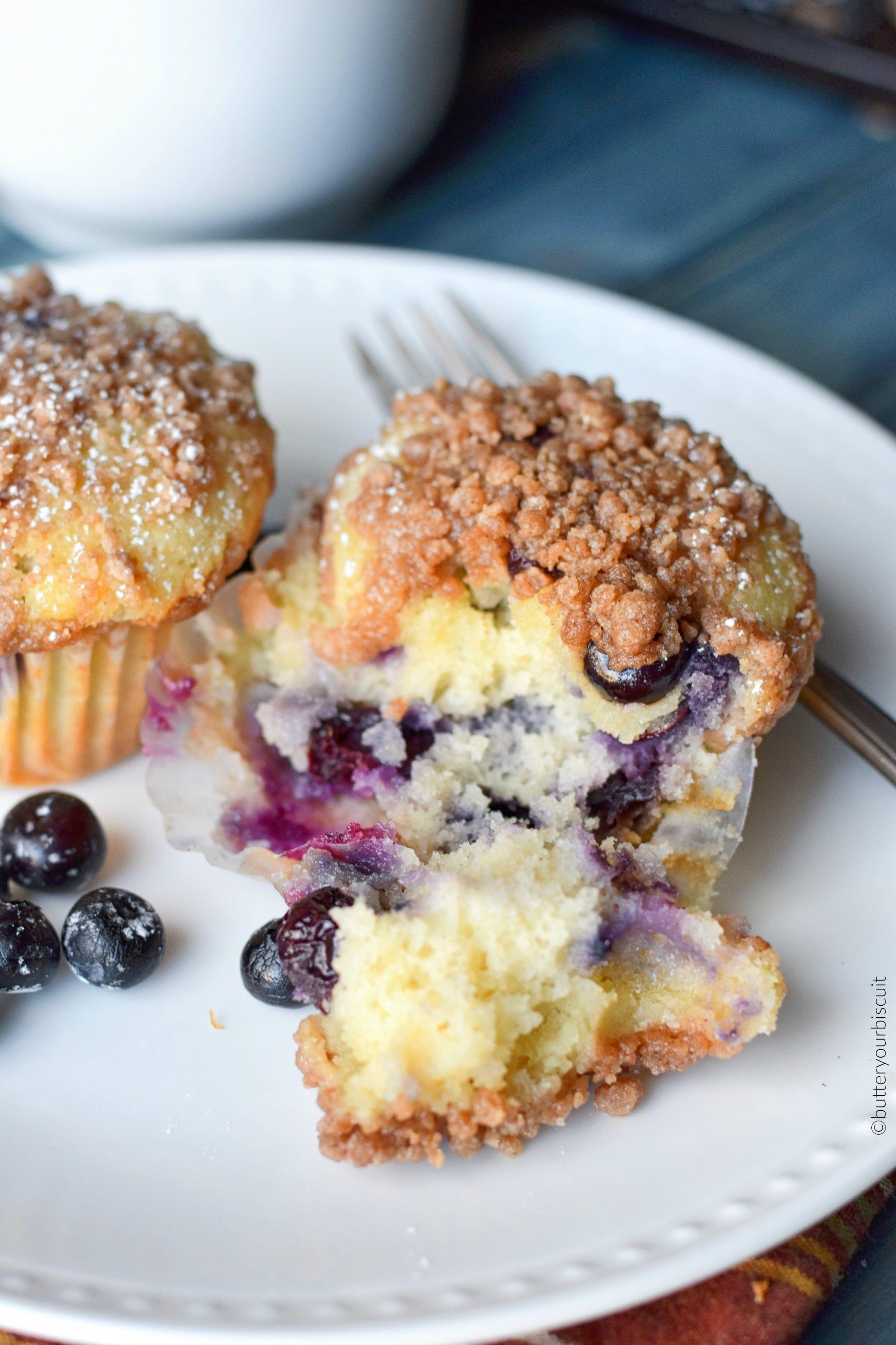 Sour Cream Blueberry Muffins Recipe Blue Berry Muffins Sour Cream Muffins Huckleberry Recipes