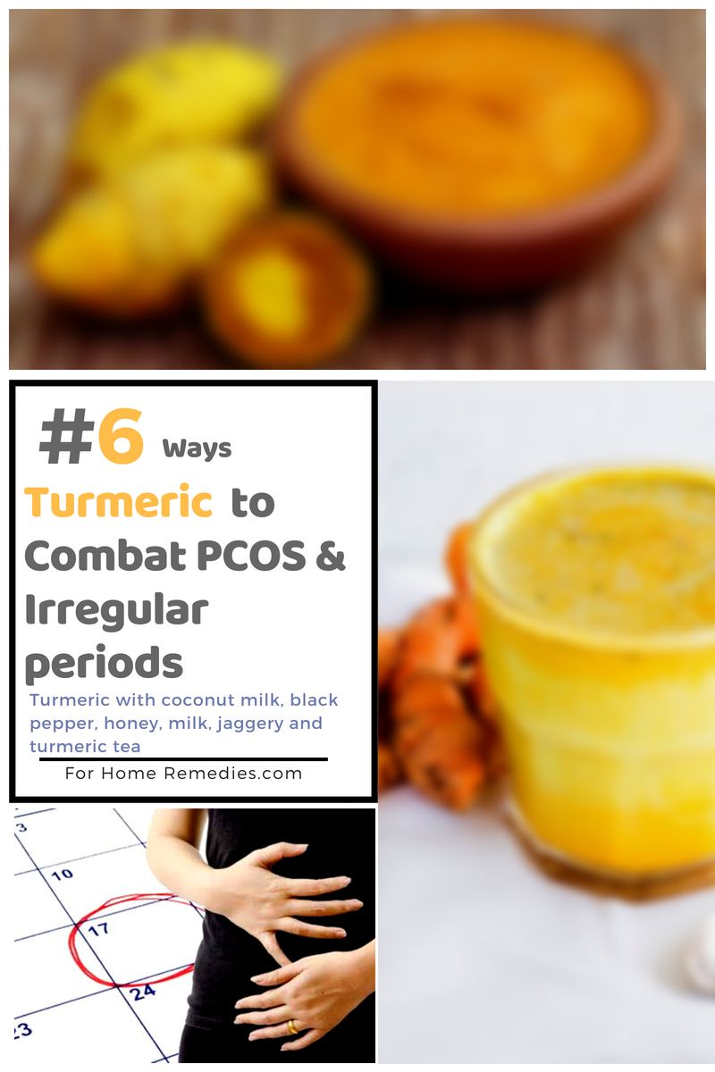 How to use turmeric combos for PCOS and irregular periods home