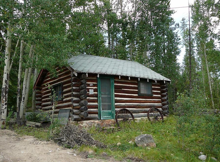 Colorado Rustic Cabin By Debbie Poetsch Cabin Exterior Colors Rustic Cabin Cabin