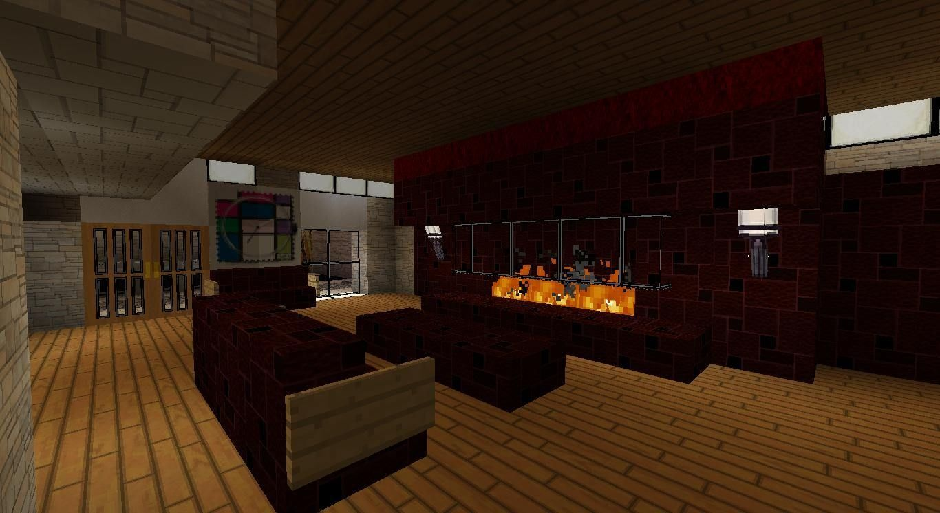 How To Make A Modern Living Room In Minecraft Home Fac
