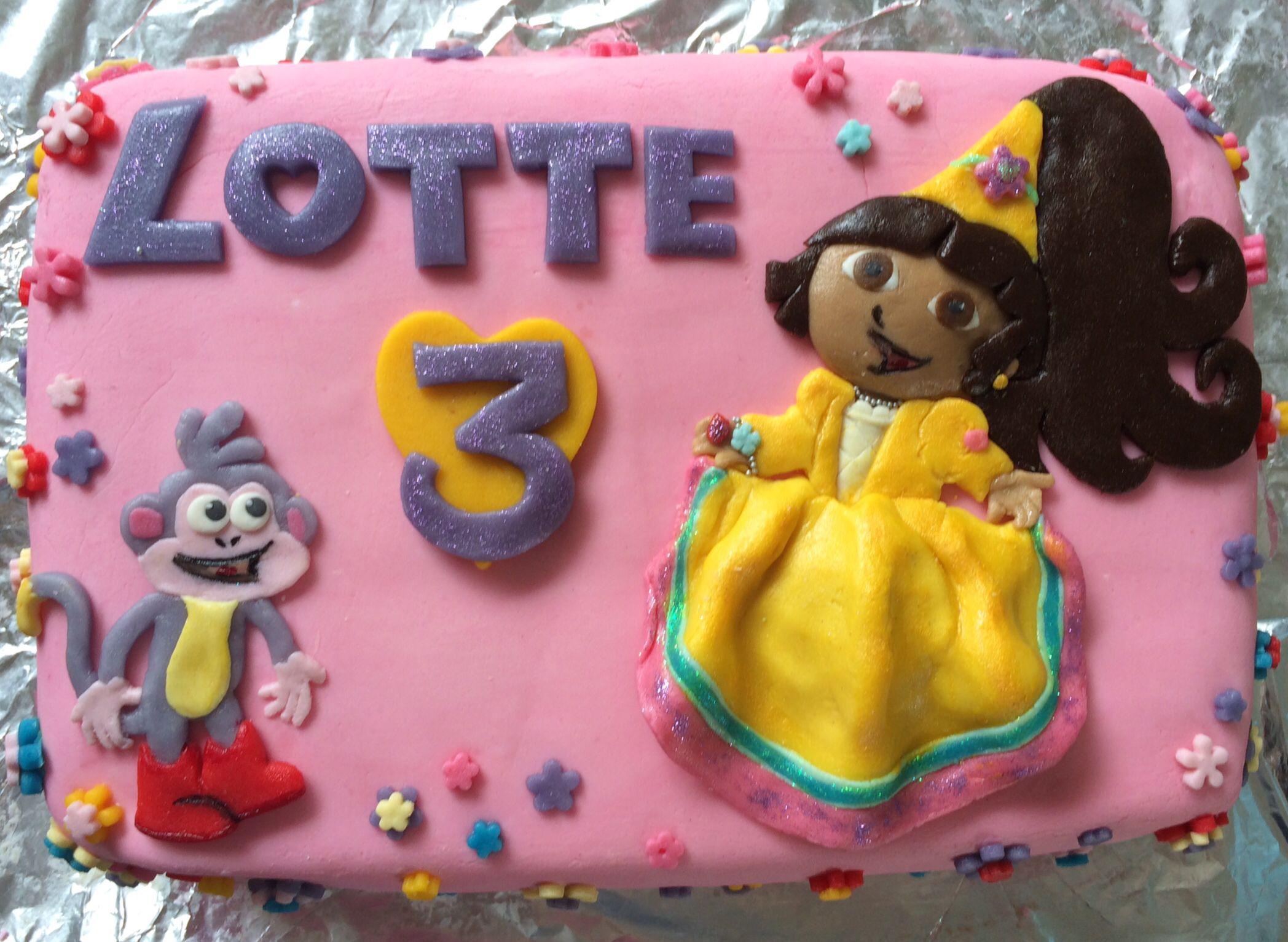 Dora Prinsessen Taart  Moeders Maaltje 2014
