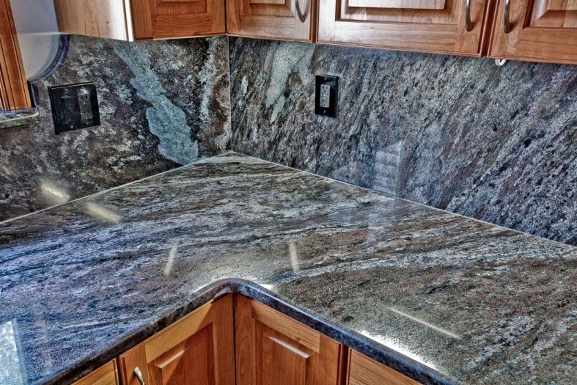 Dynamic Blue Granite by Granite Grannies (granitegrannies.com ...