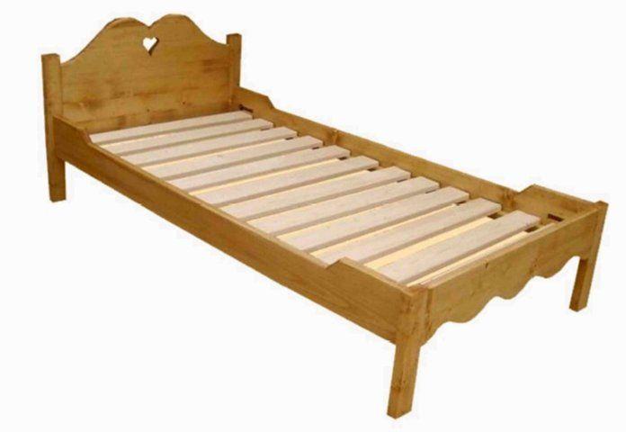 Cod c162a letto singolo per rete e materasso da 90x190 cm - Rete per letto singolo ...