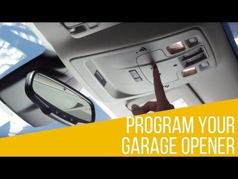 How To Program The Garage Door Opener In Your Chevrolet Bachman