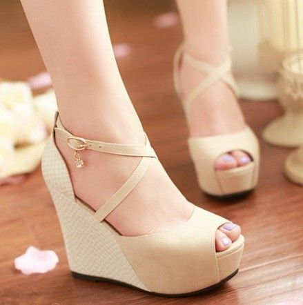 Cheap Dropshipping Newest Fashion Strappy Comfortable Platform Wedge  Sandals Women's Open Toe Sandal, Compro Calidad