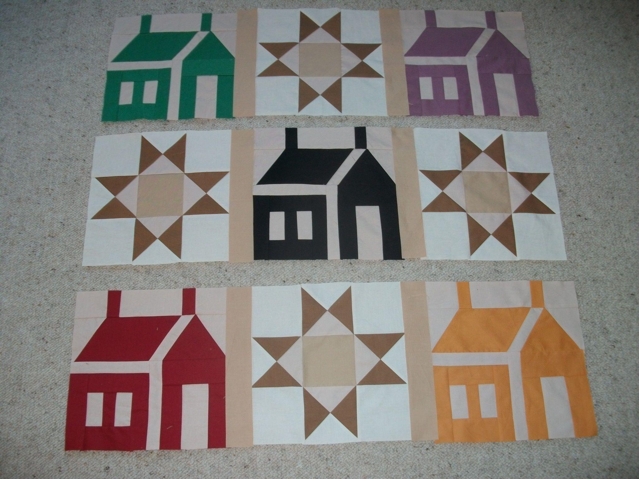 Progress Report: House Quilt Top | House quilts, Quilt top and House : quilt house patterns - Adamdwight.com